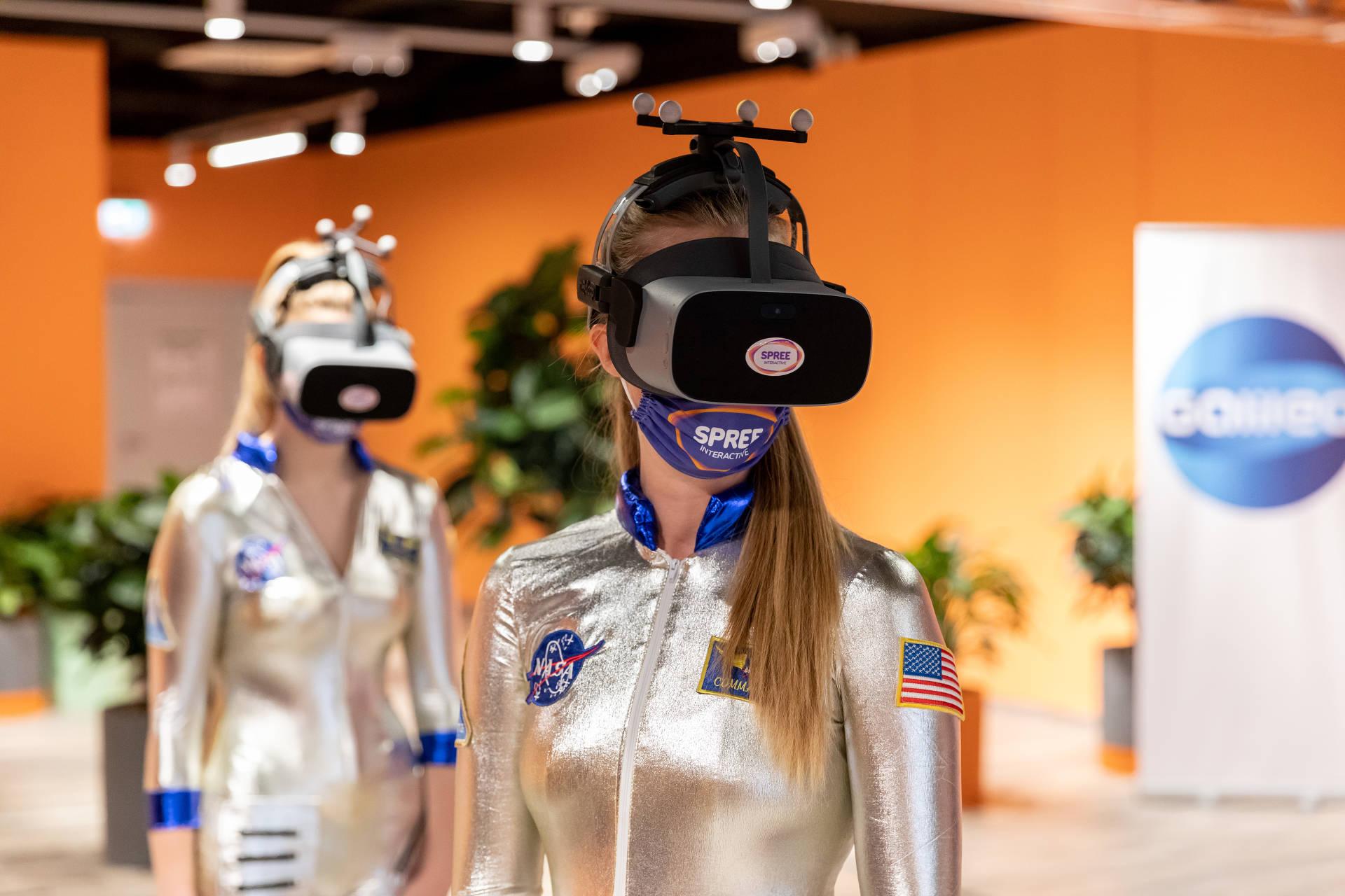 Lebensecht wirkt die Mars Welt, die Spree Interactive entwickelt hat