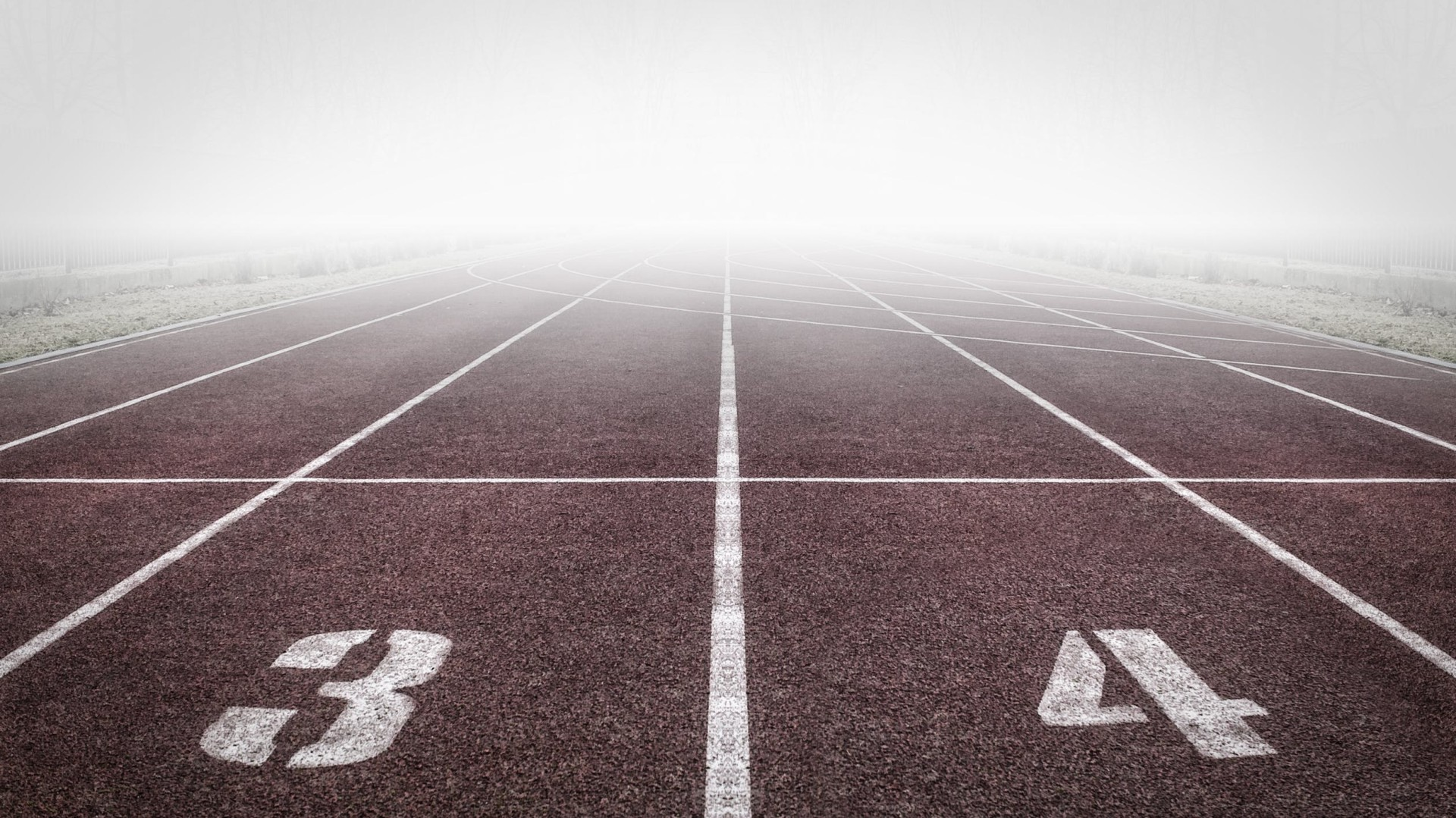Laufen, Laufbahn, drei, vier, Sport