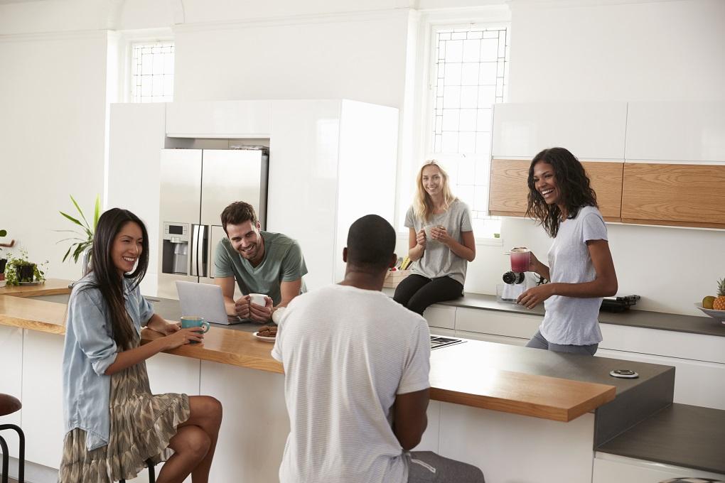 Schwarze Küchen sind voll im Trend