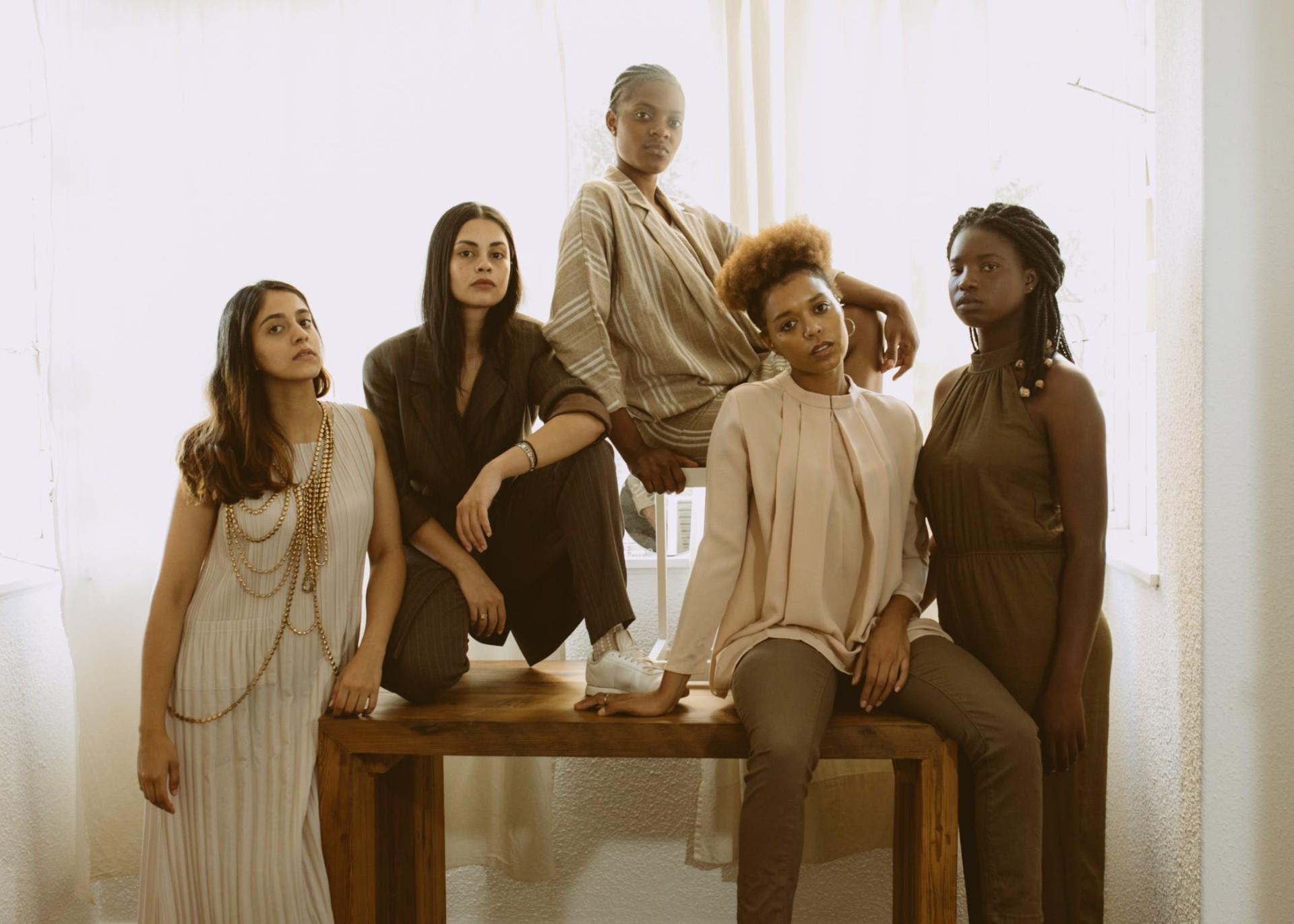 Fünf starke Frauen