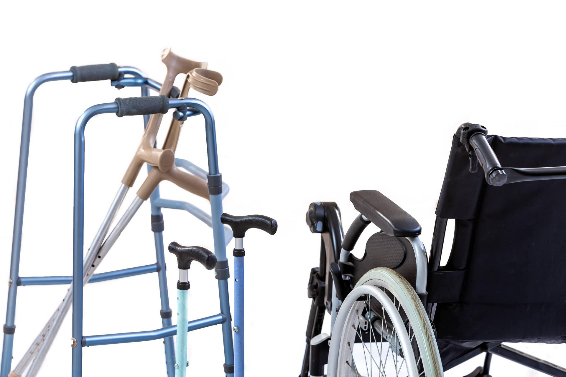 Möbilitästshilfen ermöglichen trotz körperlicher Einschränkungen sich frei zu bewegen