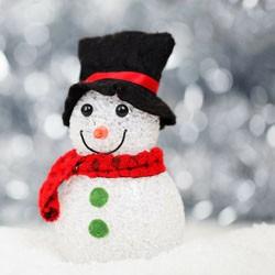 Schneemann, Winter, kalt, Schnee