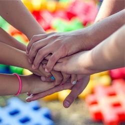 Hände, Hand, Kinder, Familie