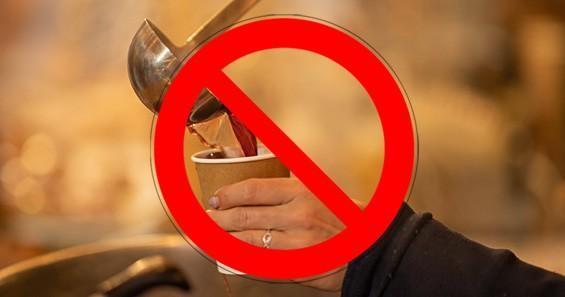 Glühwein verboten