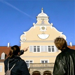Schloss, Tour, Menschen