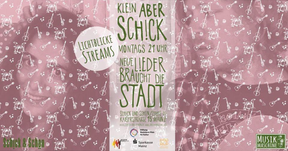 Kleinaberschick, Musik,Livestream