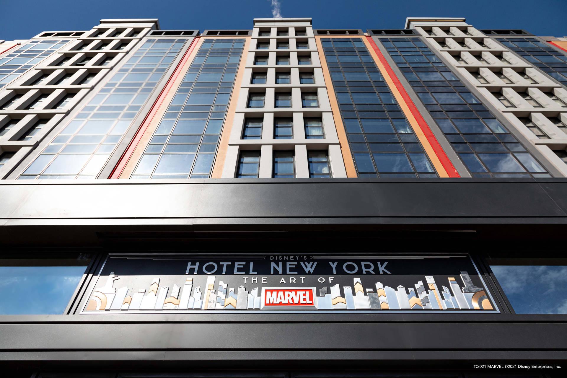 Es ist das weltweit erste Hotel, das sich der Arvel Kunst verschreibt