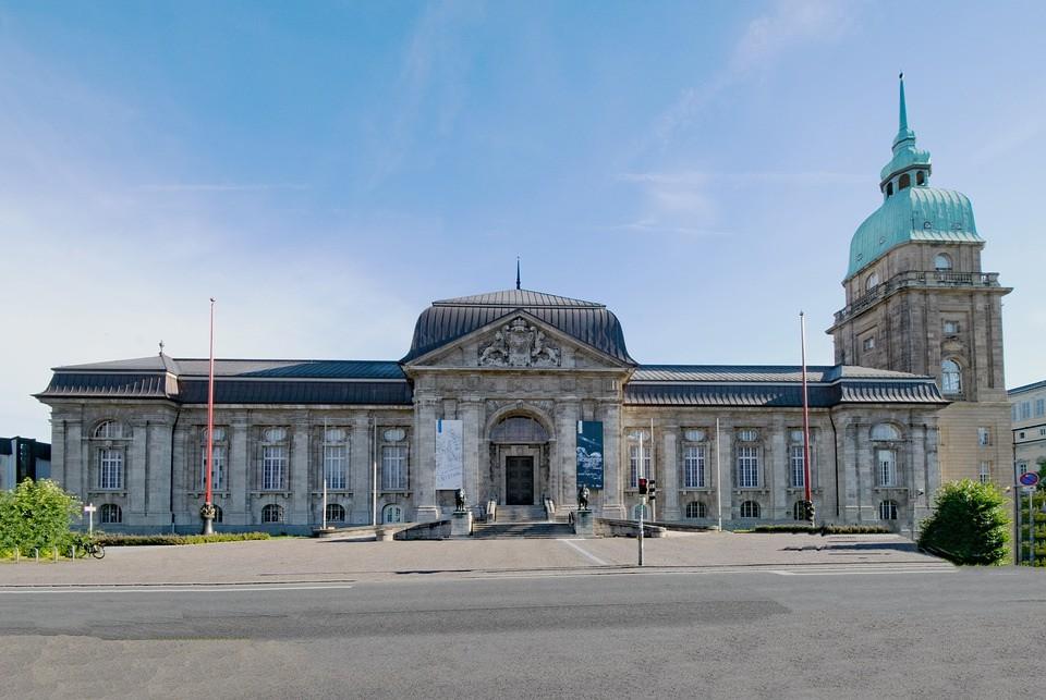 Hessisches Landesmuseum, Darmstadt, Hessen, Sehenswürdigkeit, Museum, Kultur