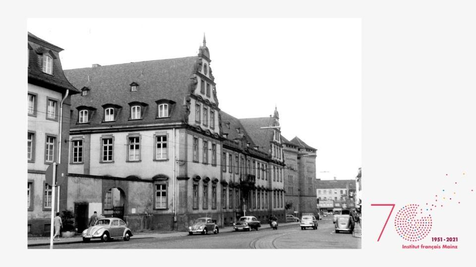 Eröffnung - 70 Jahre Institut français Mainz