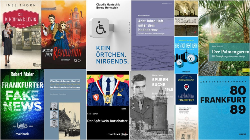 Bücher, lesen, Roman, Frankfurt