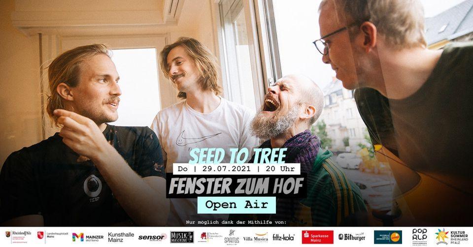 Seed To Tree x Fenster zum Hof-Open Air 2021