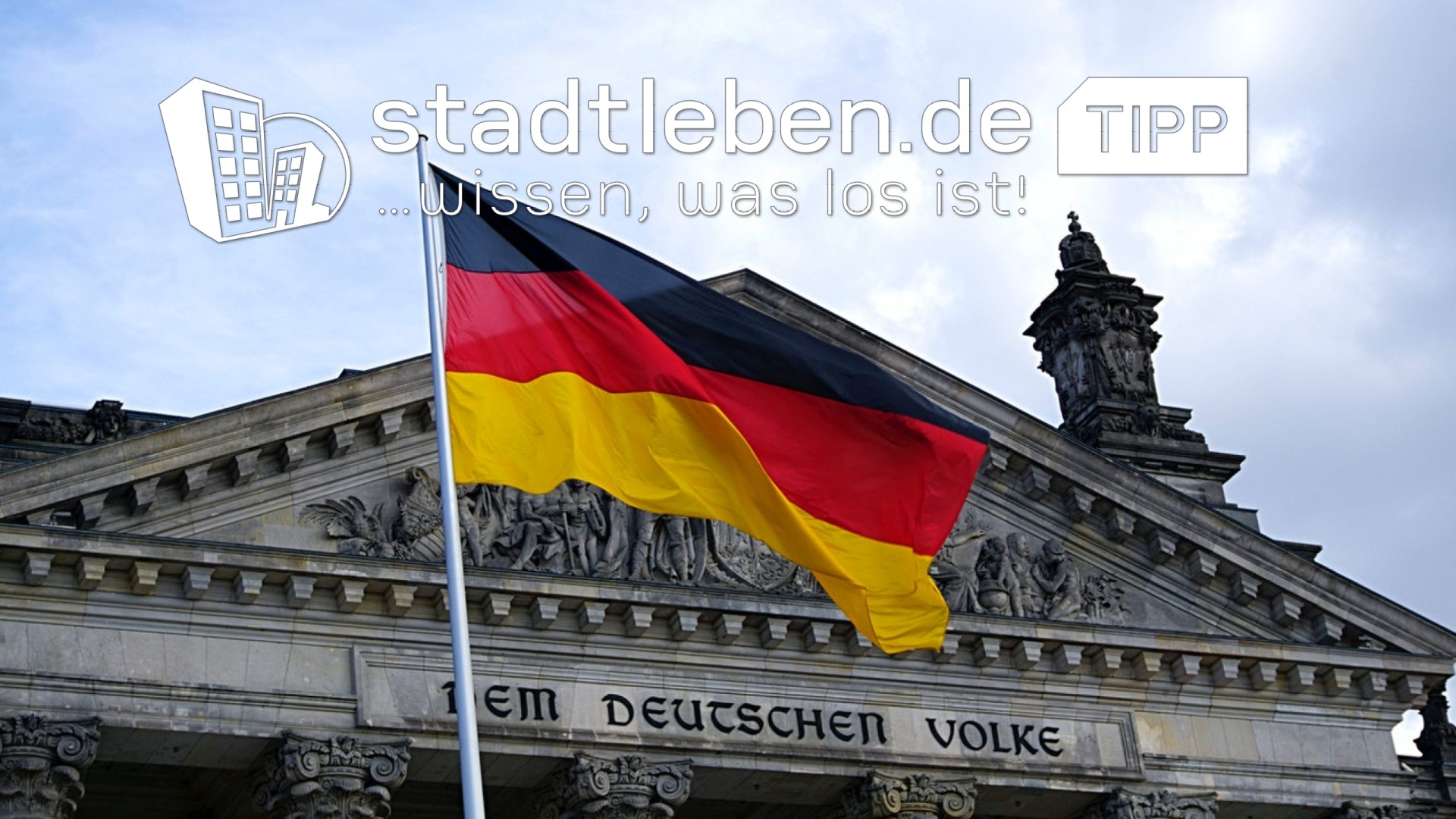 Willy-Brandt-Haus, Deutschland, Fahne, Flagge, Reichstag, Bundestag