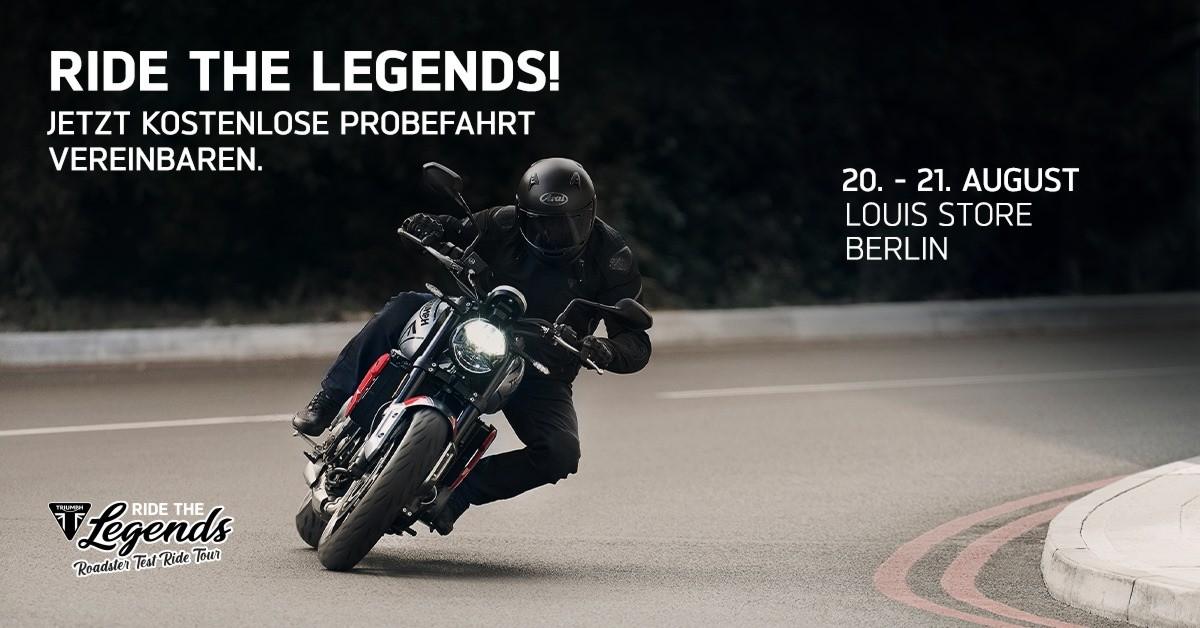 Manna auf Motorrad, Motorrad, Ride the legends 2021